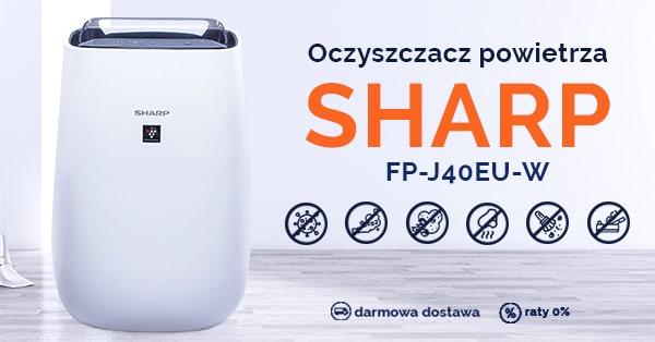Oczyszczacz powietrza Sharp FP-J40EU