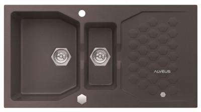 ALVEUS SENSUAL 70 zlewozmywak granitowy chocolate 4307003