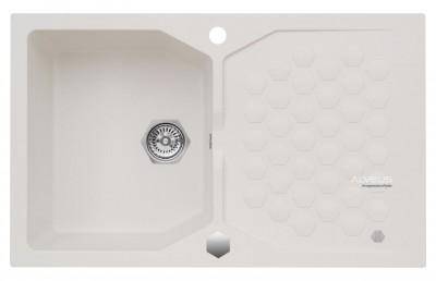 ALVEUS SENSUAL 30 zlewozmywak granitowy biały 4303011