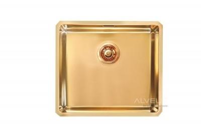 ALVEUSQUADRIX 30 zlewozmywak stalowy MONARCH złoto 1103319