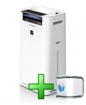 Oczyszczacz powietrza Sharp KC-G60EUW OD RĘKI + SENSOR ECOLIFE