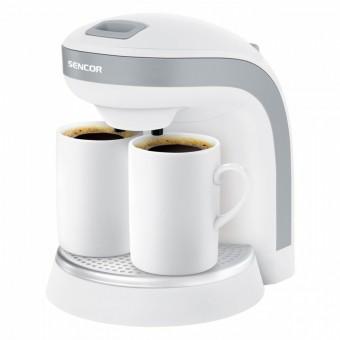Sencor Ekspres przelewowy SCE 2001WH do kawy/herbaty,kubki porcelanowe GRATIS