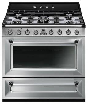 Kuchnia gazowo-elektryczne Smeg TR90X9-1 - Użyj Kodu