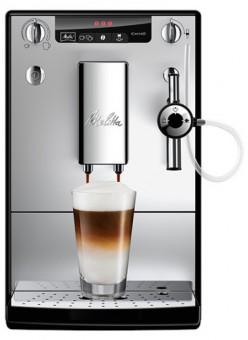 Ekspres ciśnieniowy Mellita Solo & Perfect Milk Srebrno-czarny E957-103