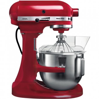 Mikser KitchenAid Robot planetarny HEAVY DUTY 5KPM5EER czerwony - DOSTAWA 24H!