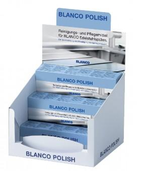 BLANCO POLISH środek do pielęgnacji zlewozmywaków stalowych kpl. (12 szt. x 150 ml) 511894