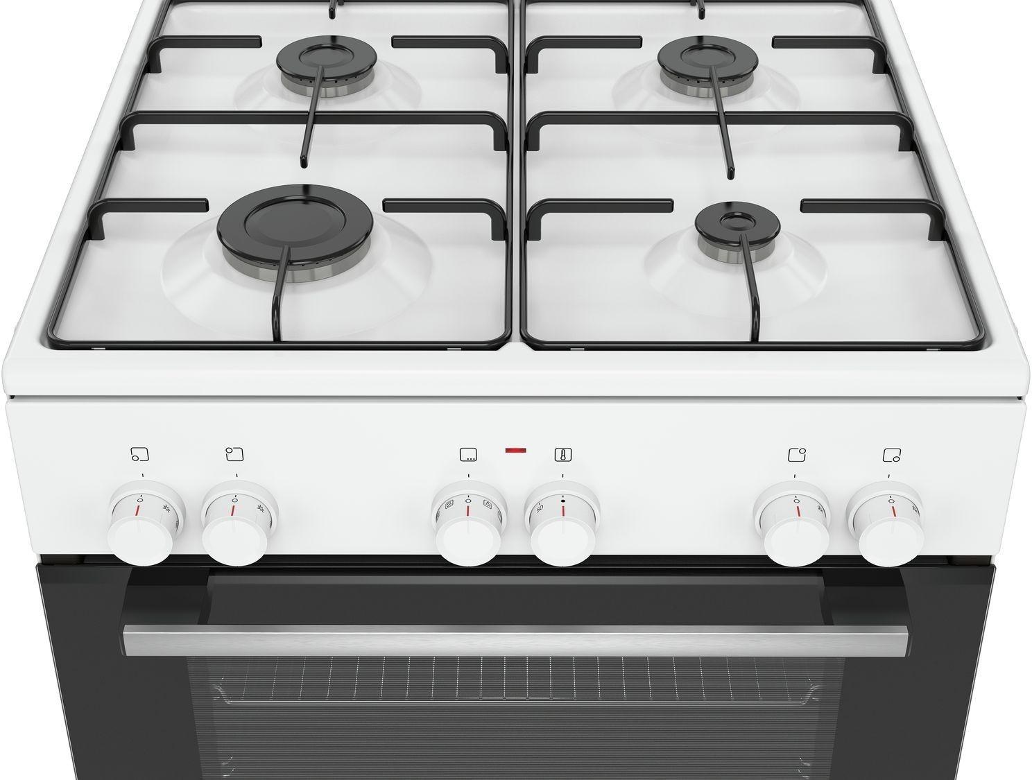 Kuchnie Gazowo Elektryczne Kuchnia Bosch Hxa090d20l Elektrohome Pl
