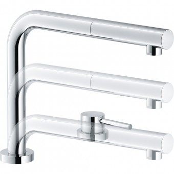 FRANKE Bateria ACTIVE Window Pull-Out chrom 115.0486.978 (S)* - Użyj Kodu
